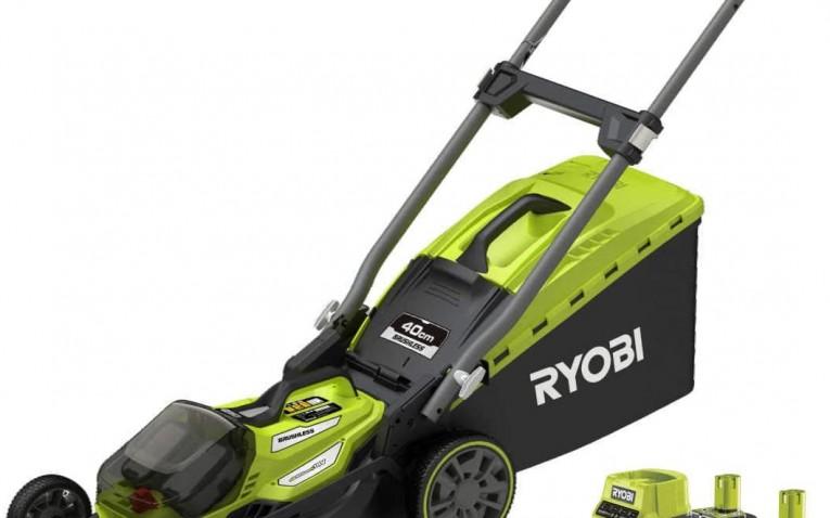 Tondeuse électrique sans fil – RYOBI RY18LMX40A – Brushless – 40 cm